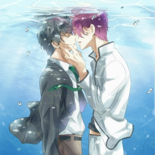 Making Waves Together - a Rin/Haru fanmix