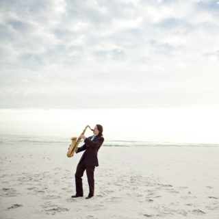 Sax on the Beach