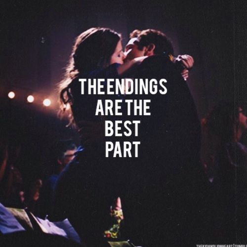 endings are the best part