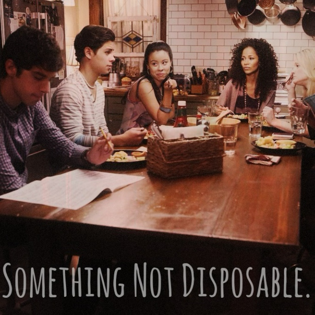 Something Not Disposable.