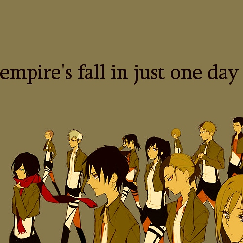 empire's fall in just one day
