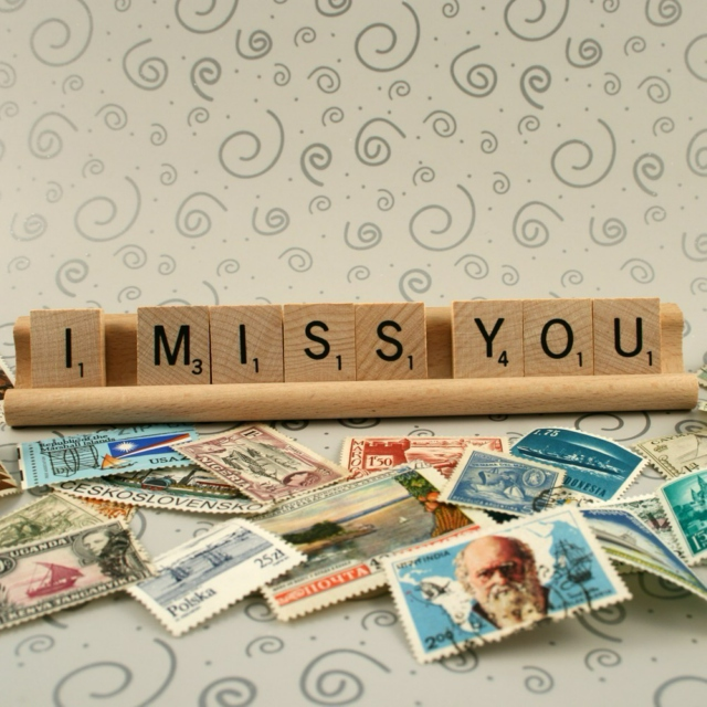 Darling, I miss you.