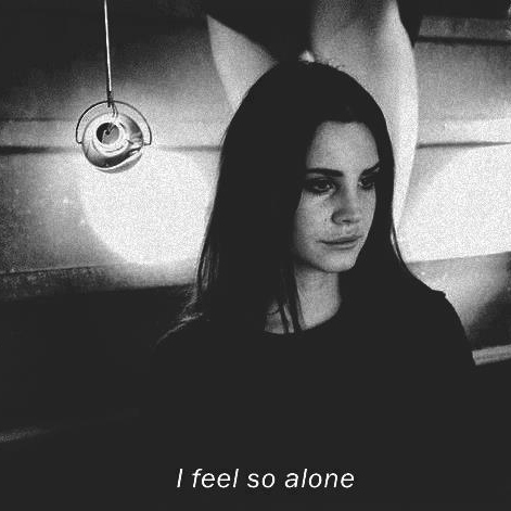 When you're alone.....