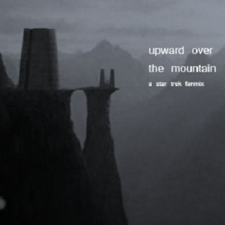 upward over the mountain