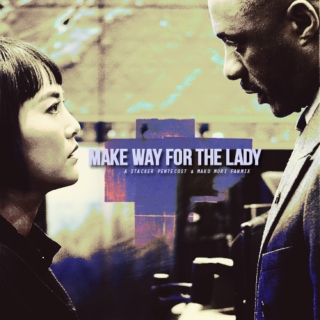Make way for the lady