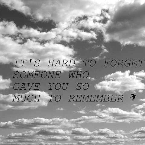 love will remember.