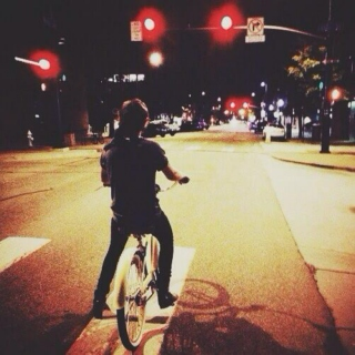 late night bike rides with harry