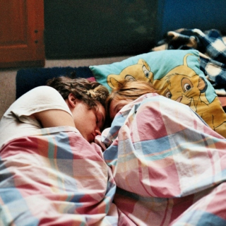 ☽falling asleep with harry☾