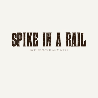 SPIKE IN A RAIL