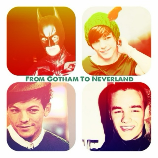 From Gotham To Neverland: A Lilo Mix
