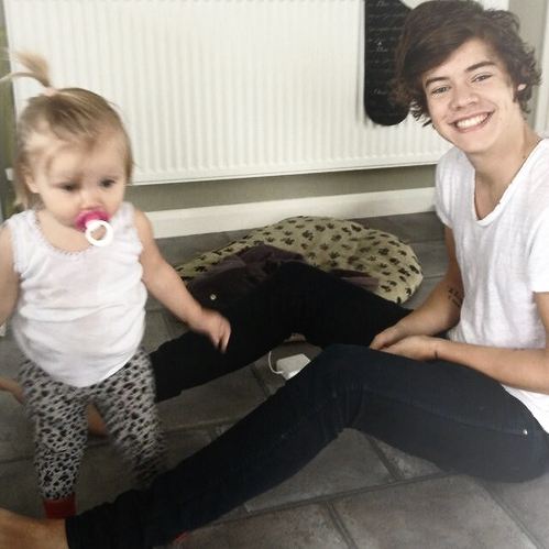 babysitting lux with harry