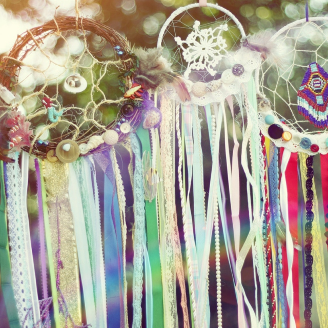 flower crowns and dream catchers