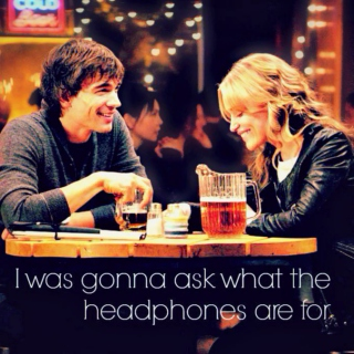 I was gonna ask what the headphones are for: an Annie & Auggie mix