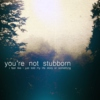 you're not stubborn