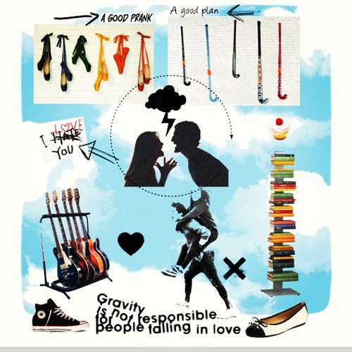Gravity is Not Responsible (people falling in love)