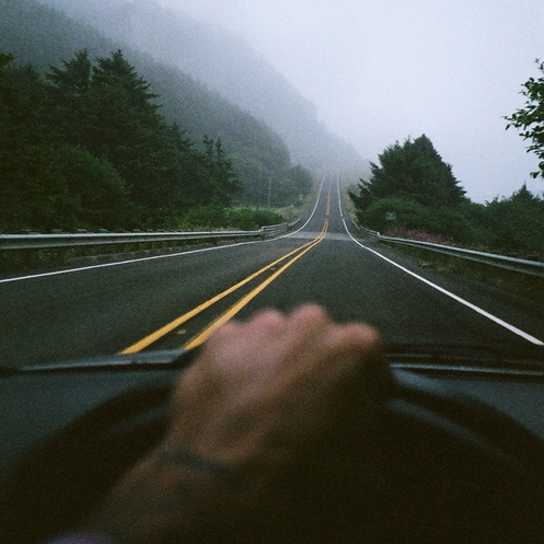 just drive and escape it all