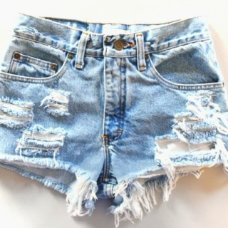 summer high-waisted shorts