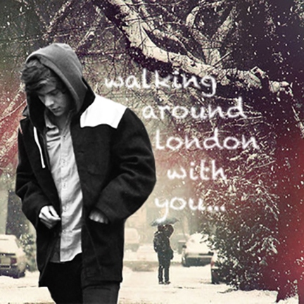 Winter in London with Harry