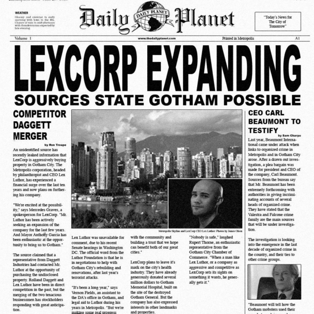 Daily Planet Prophecy pt.2