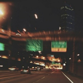 late night drives to nowhere in particular