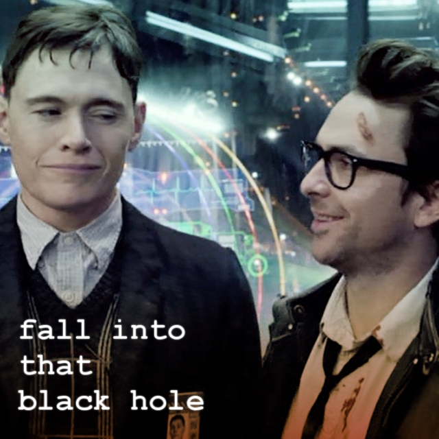 fall into that black hole
