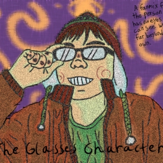 The Glasses Character