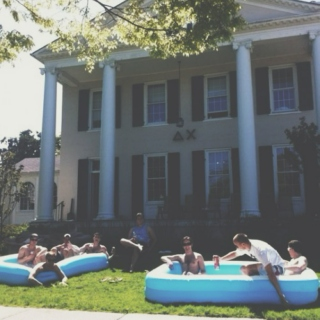 life in a 90s frat house