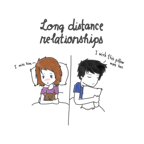 How to show love long distance