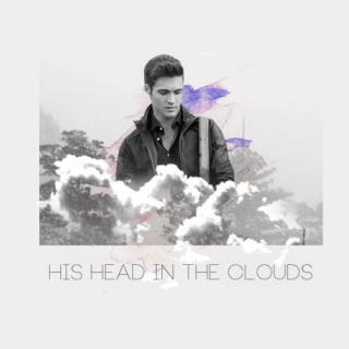 His head in the Clouds