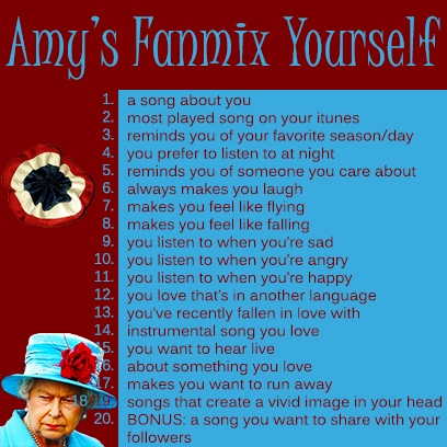 Amy's Fanmix Yourself Meme