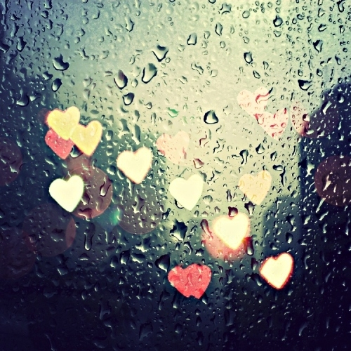 coffee, rain, and your smile.