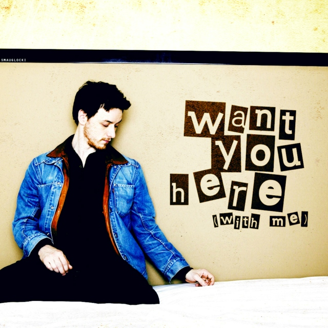 want you here (with me)