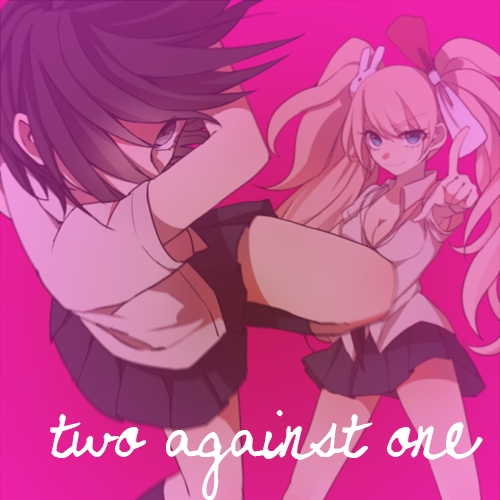 two against one
