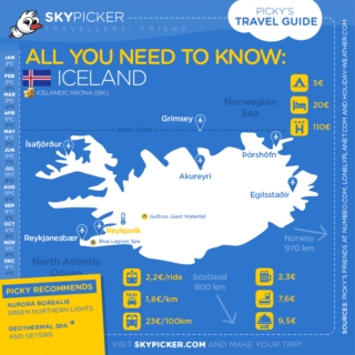 Skypicker destination: Iceland