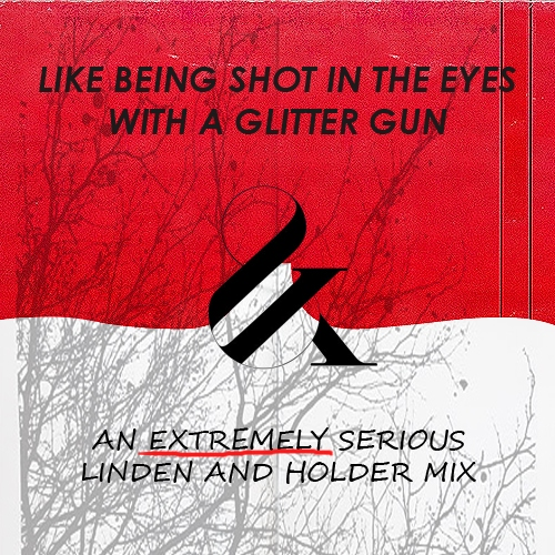 like being shot in the eyes with a glitter gun