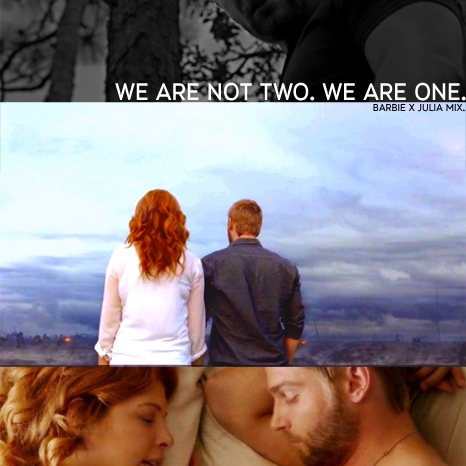 we are not two. we are one.