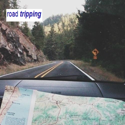 road tripping