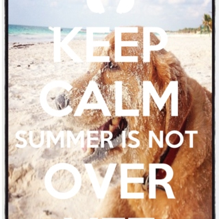 Summer is not over YET!!!
