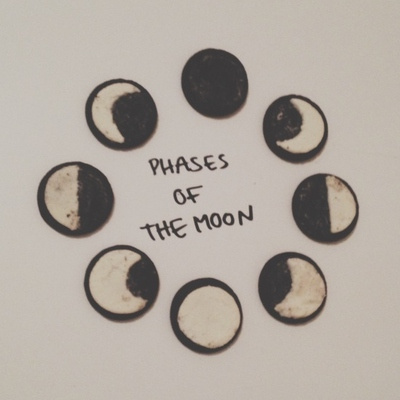 phases of the moon.