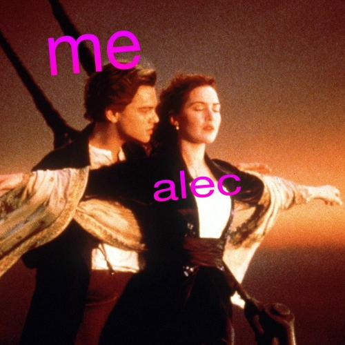alec loves the 90's so fr*ckin much