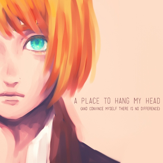 a place to hang my head