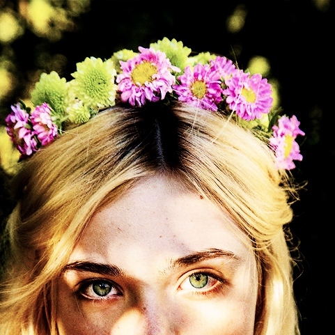 I rather have flowers in my hair ❁