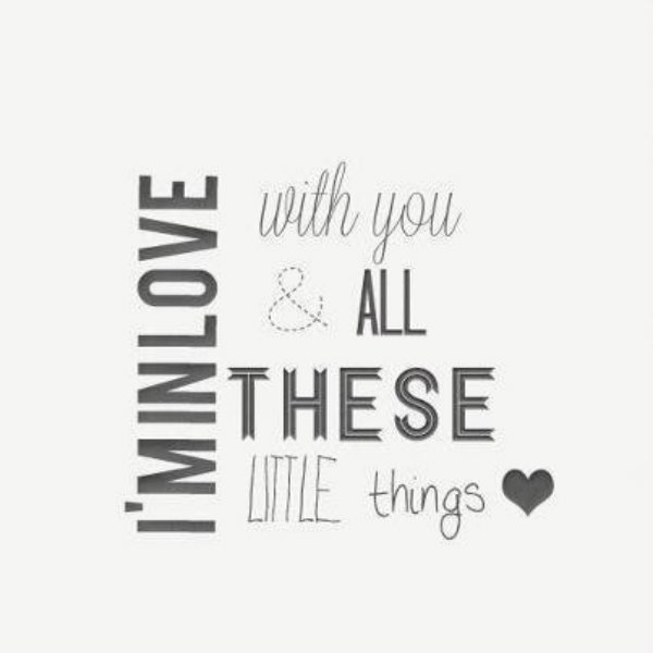 little things (◡‿◡✿)