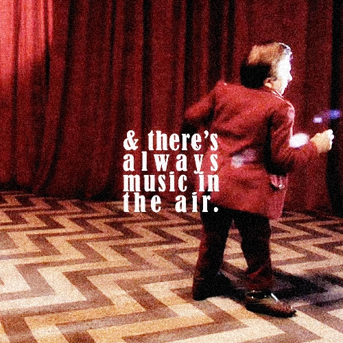 and there's always music in the air.
