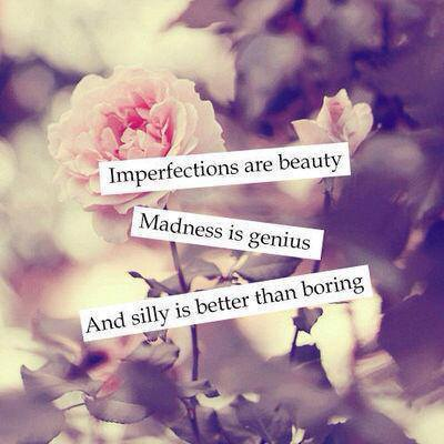 imperfectly perfect ♥