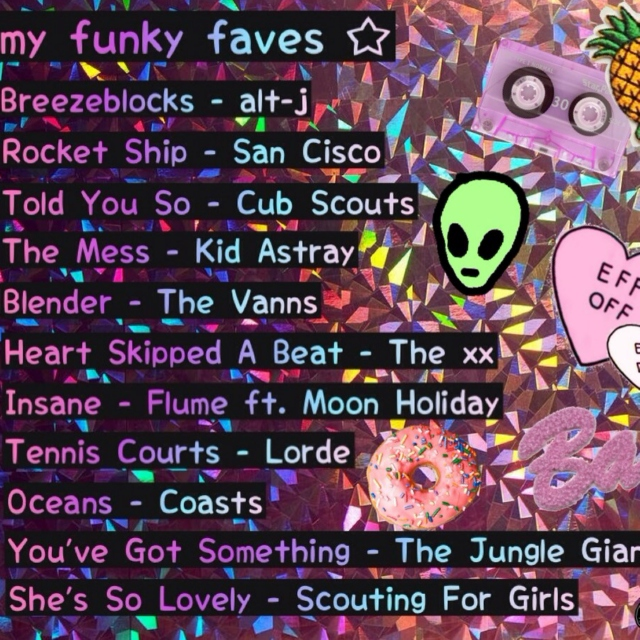 funky faves ✰