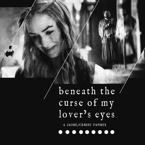beneath the curse of my lover's eyes