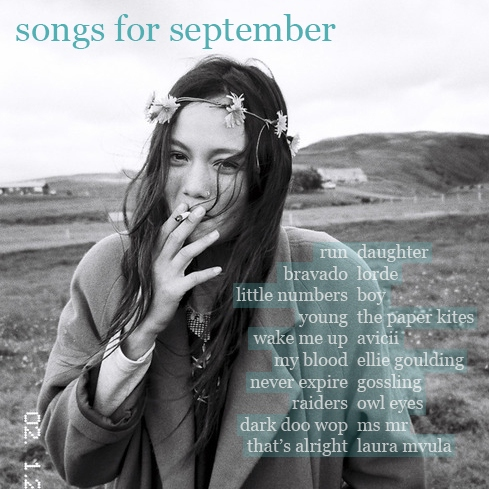 songs for september