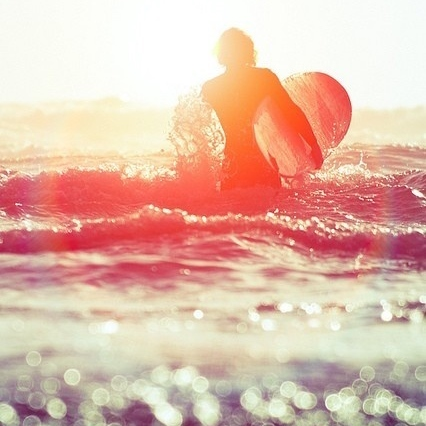 just You, your Surf and Ocean