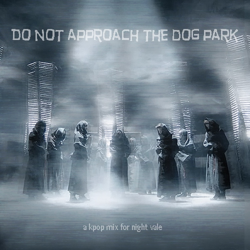 do not approach the dog park